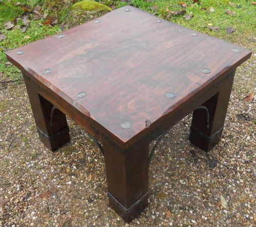 Antique Style Small Hardwood Coffee Table